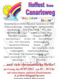 Hoffest Canarisweg: Bring Dich ein - Sei dabei