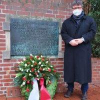 Holocaust-Gedenktag am 27.01.2021 auf dem Mühlenberg
